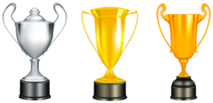 Earn trophies for reaching exercise goals